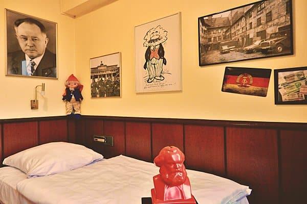 Retro-Art-Hotel Luenen Einzelzimmer Standard Themenzimmer DDR